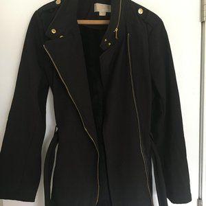 Michael Kors black Trench Coat with Belt